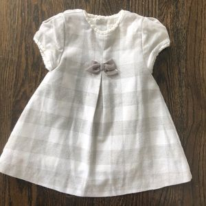 Adorable Mayoral Checked Baby Girl Dress 🎀4-6mos